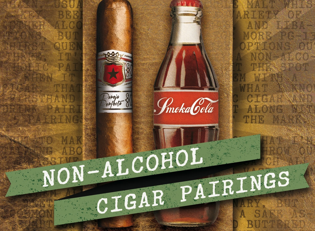 Non-Alcoholic Drink and Cigar Pairings