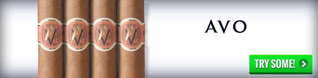 best cigars buy AVO cigars