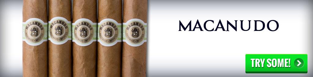 best cigars buy Macanudo cigars
