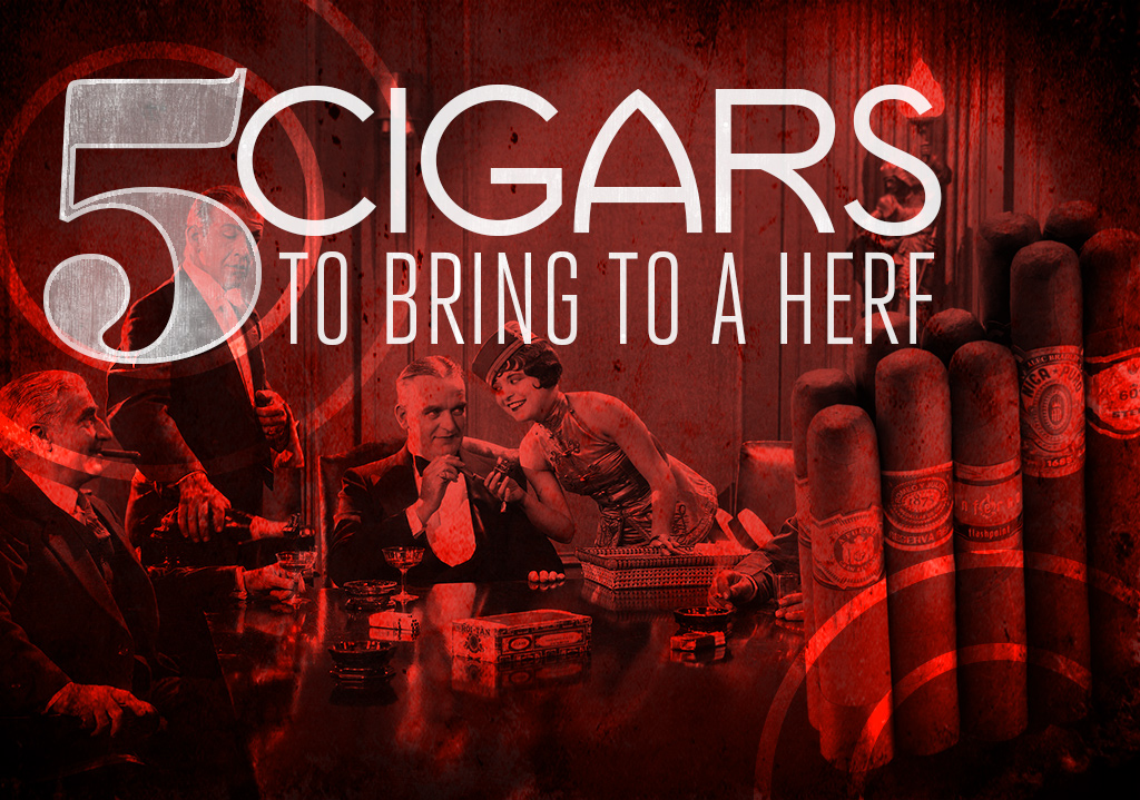 2015 CA Report: Top 5 Cigars to Bring to a Herf