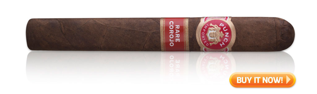 Punch rare corojo cigar blends