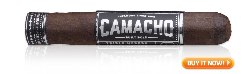 Camacho Triple maduro cigars on sale