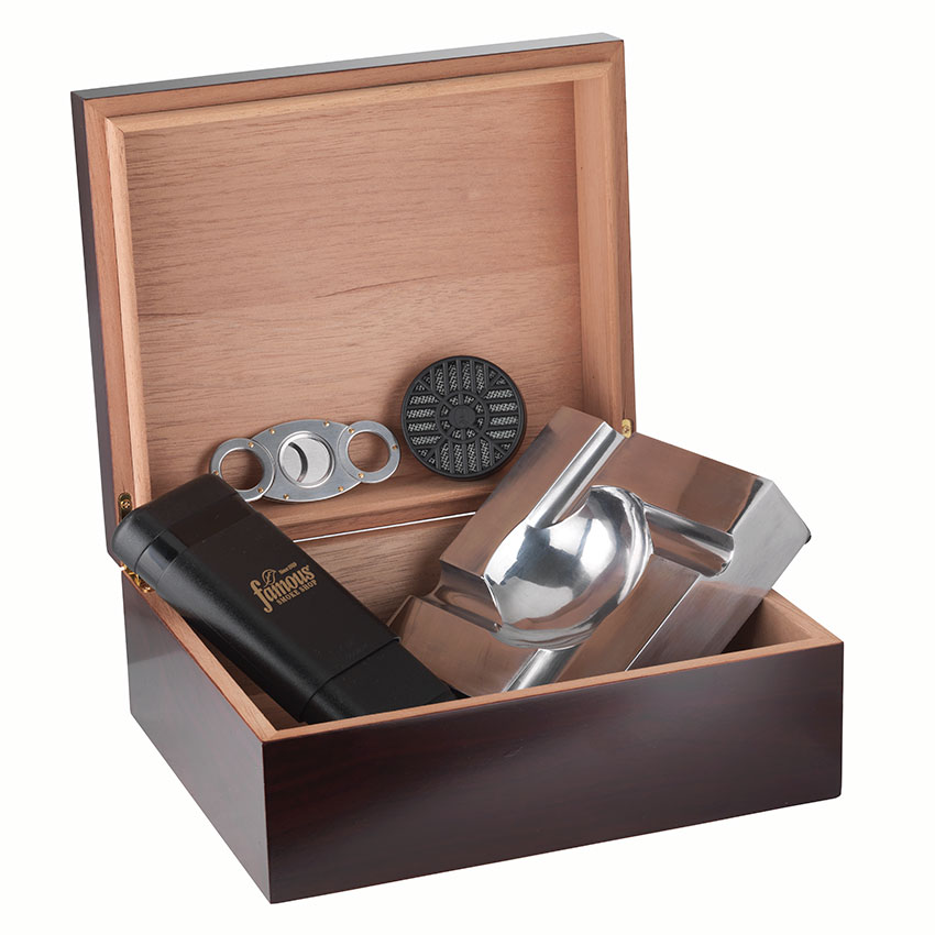 rookie cigar smoker gift set