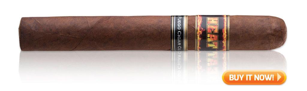 J Feugo Heat cigars on sale cult following