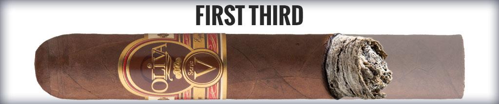 blind cigar review oliva serie v cigar review 1/3