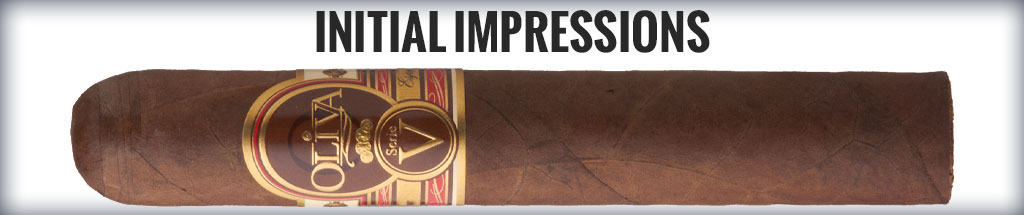 blind cigar review oliva serie v cigar review initial