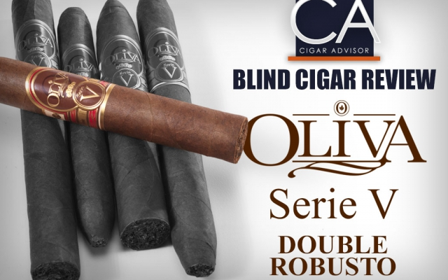 Blind Cigar Review: Oliva Serie V Double Robusto