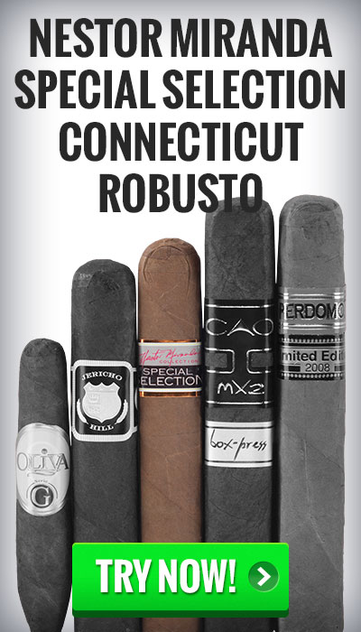 box-pressed cigars nestor miranda special selection cigars on sale