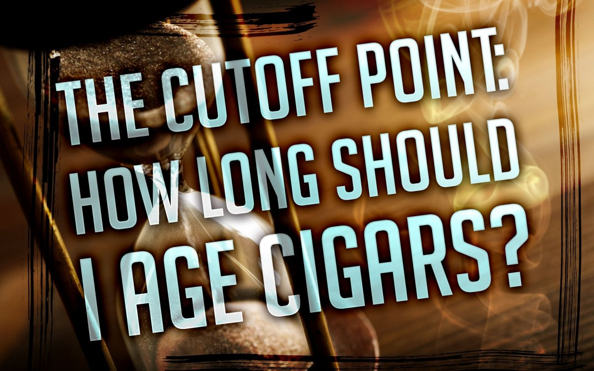 The Basics: How Long to Age Cigars