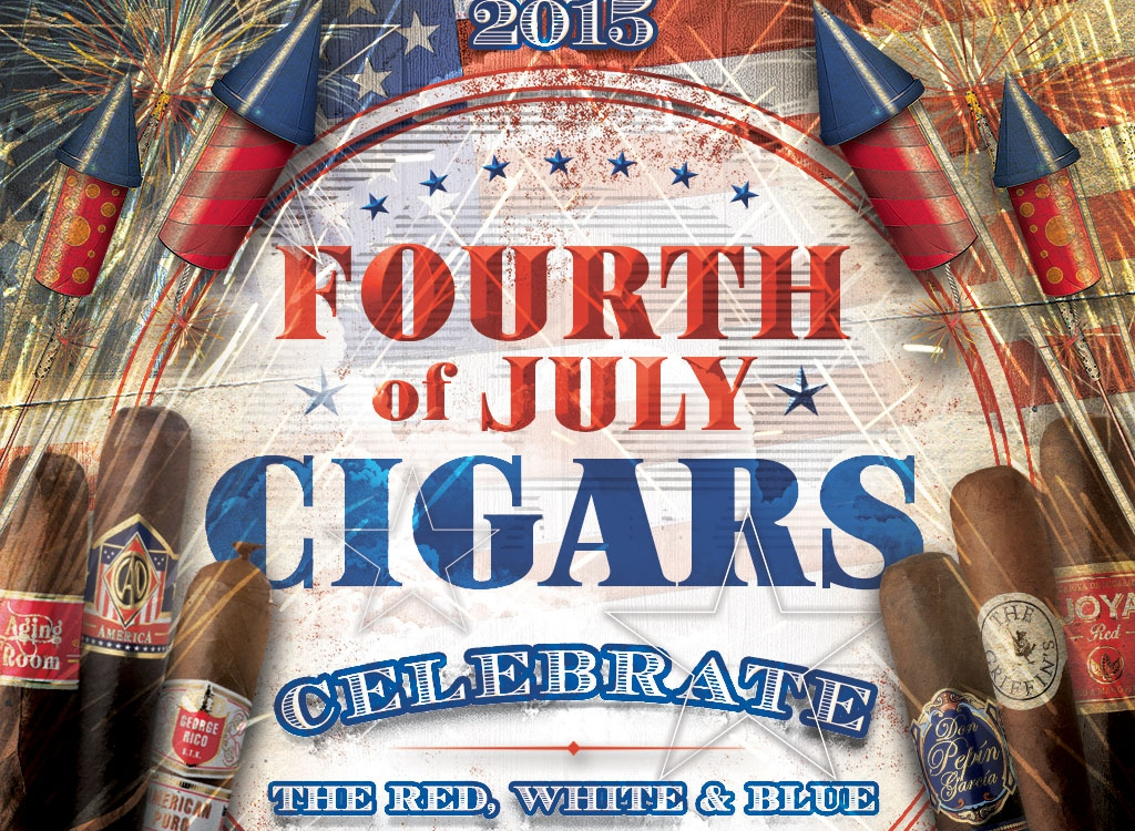 4th of July Cigars: Bands of Red, White & Blue - Cigar Advisor