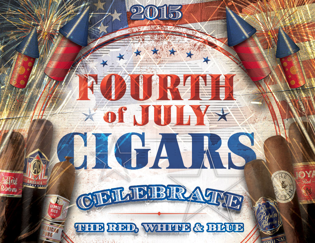 4th of July Cigars: Bands of Red, White & Blue