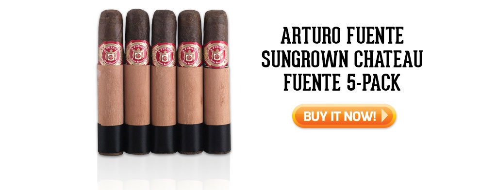 Chateau Fuente 5 pack father's day gift