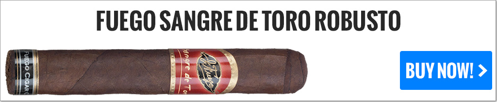 cigar makers j fuego sangre de toro cigars on sale