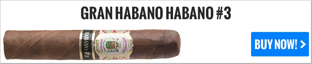 cigar makers gran habano habano 3 cigars on sale