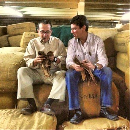 jose blanco and jochi blanco in factory