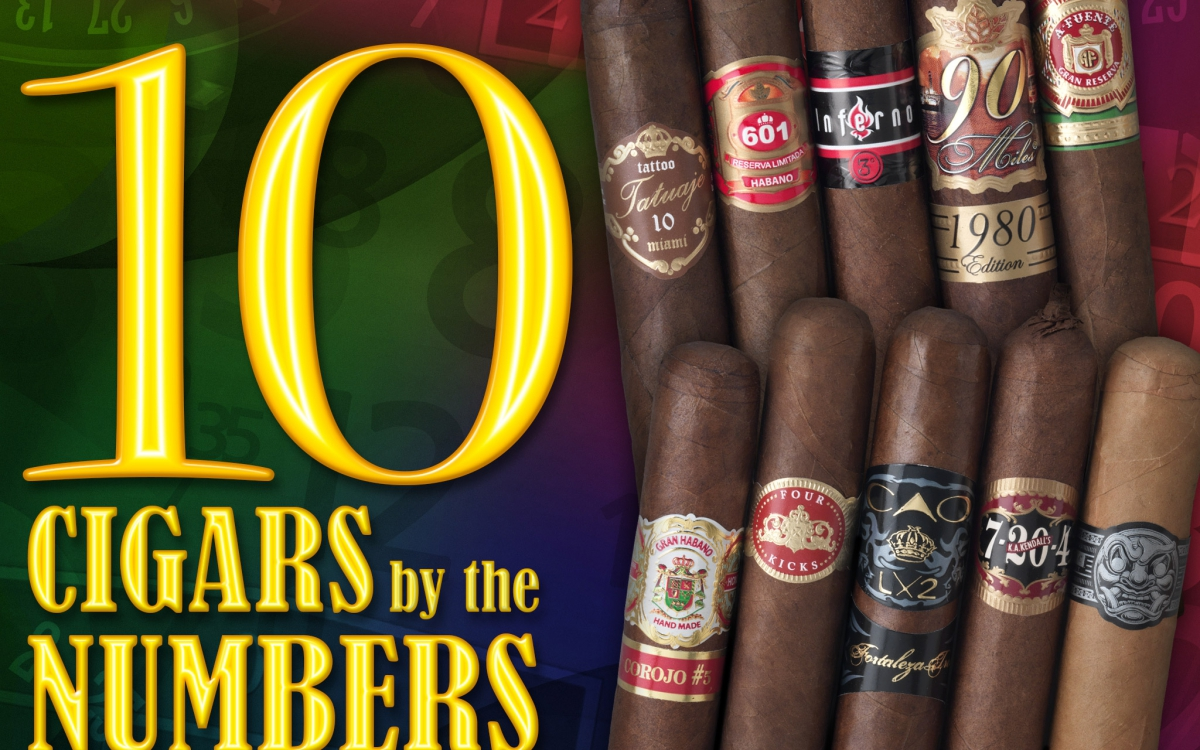 2015 CA Report: 10 Top Cigar Numbers