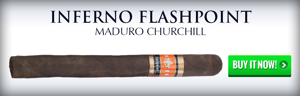 inferno flashpoint cigar natural and maduro 2