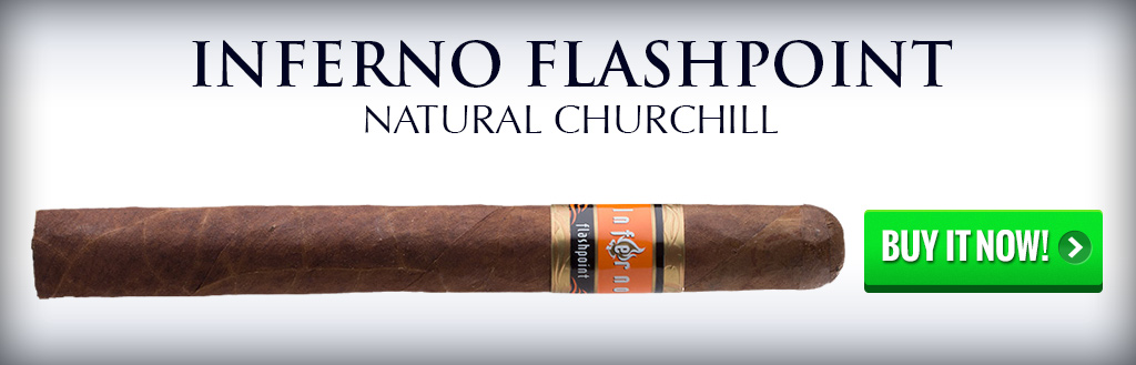 inferno flashpoint cigar natural and maduro