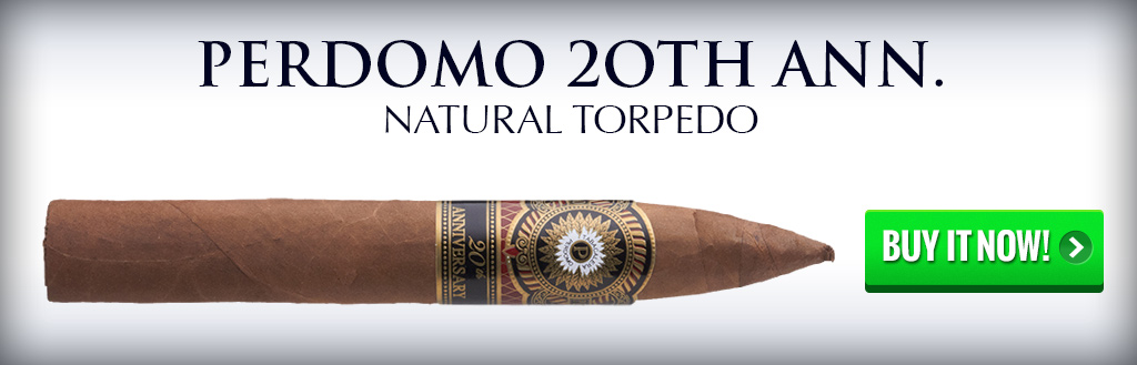 perdomo 20th anniversary cigar natural and maduro 1