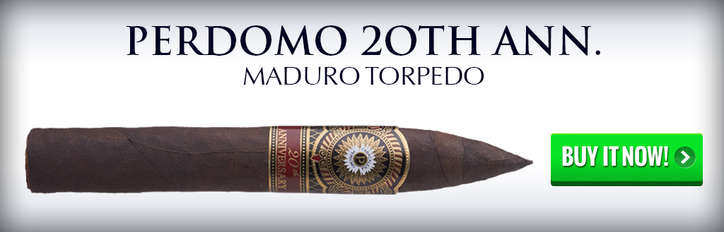 perdomo 20th anniversary cigar natural and maduro 2