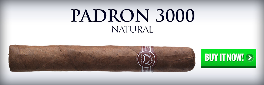 padron thousand cigar natural and maduro