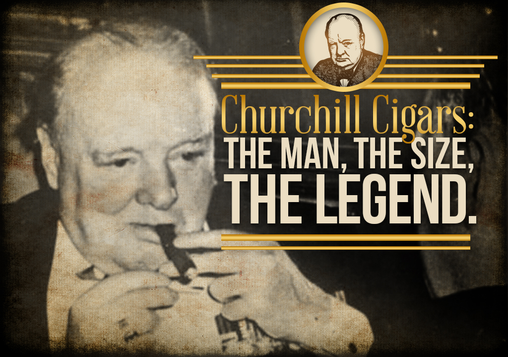 Churchill cigars size article