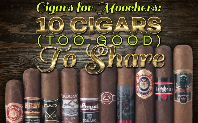 2015 CA Report: Moocher Cigars You Won't Want to Share