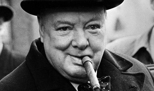winston churchill no cigar cutters