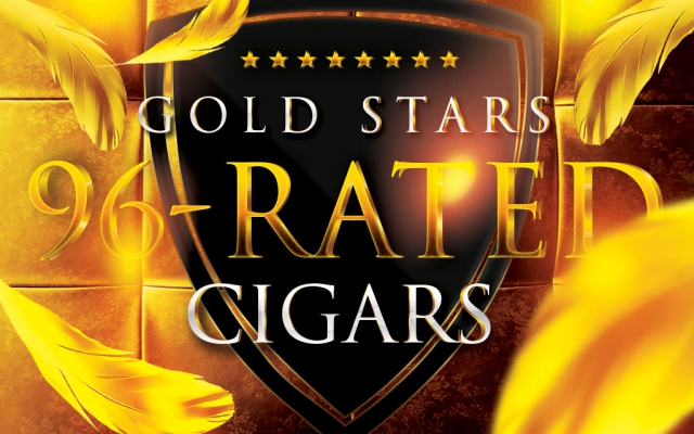 Gold Stars: 96 Rated Cigars