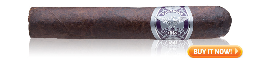 partagas 1845 extra oscuro barrel aged cigars on sale