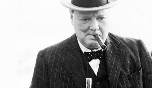 winston churchill cigar