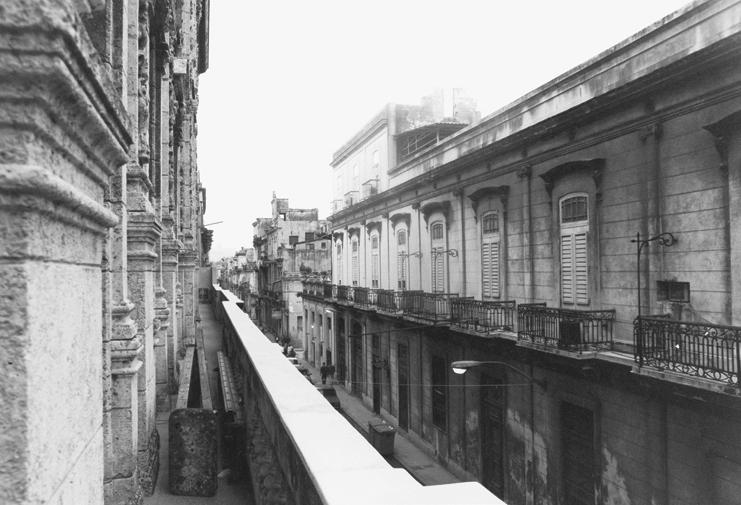 Perspective street havana cuba