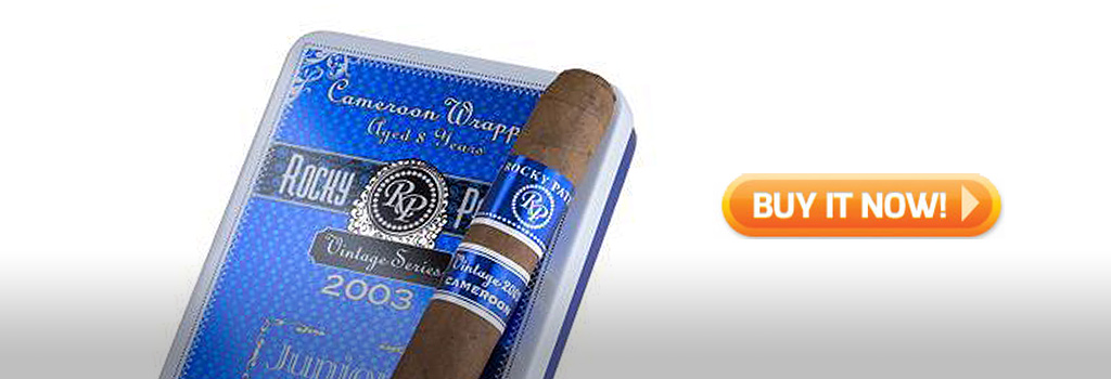 Rocky Patel Vintage 2003 Cameroon Juniors Small Cigars on sale