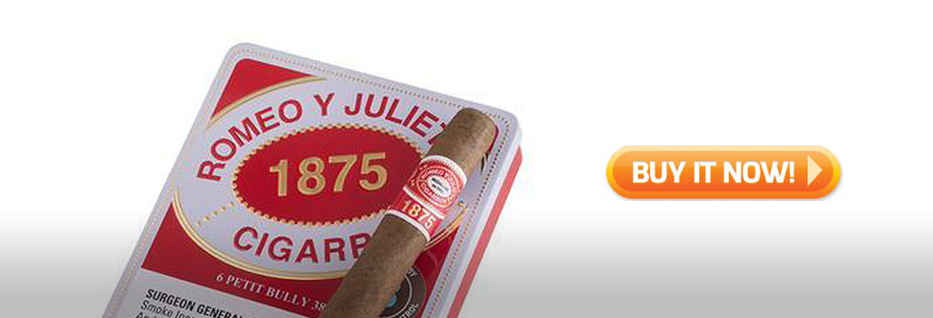 Romeo y Julieta petit bully small cigars on sale