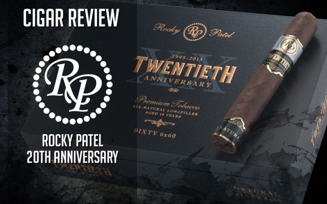 Rocky Patel Twentieth Anniversary Cigar Review: Video