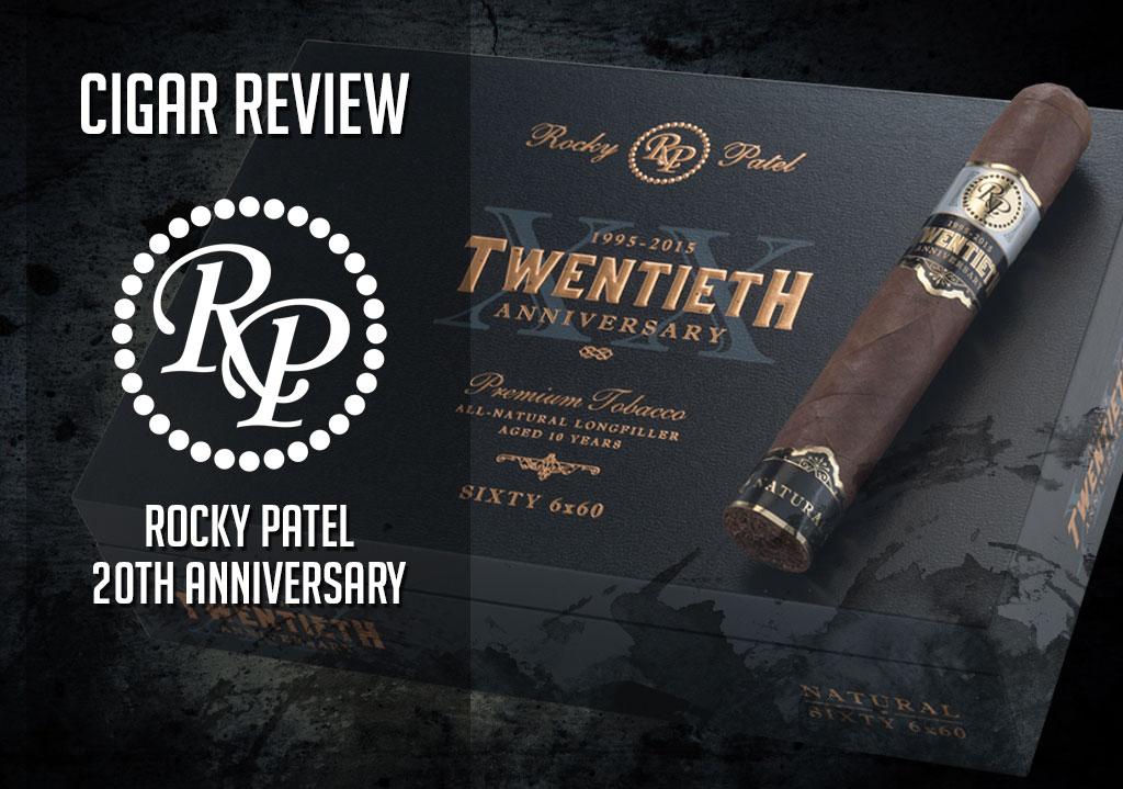Rocky Patel Twentieth Anniversary Cigar Review: Video
