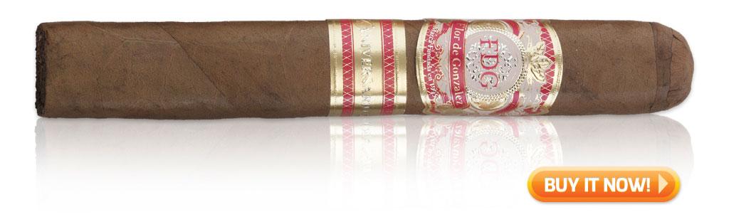 2015 best new cigars flor de gonzalez 20th anniversary cigars on sale