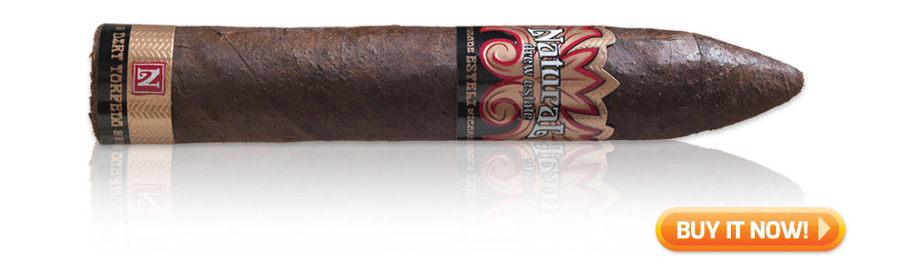 Natural Dirt Torpedo cigars on sale