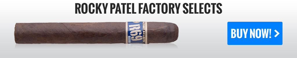 rocky patel factory selects value bundle cigars on sale