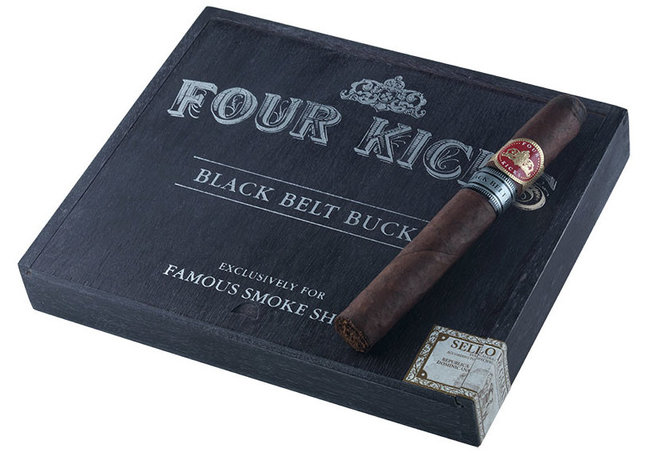 black belt buckle cigar review box