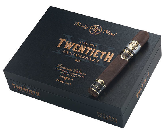 rocky patel twentieth anniversary cigar review toro box