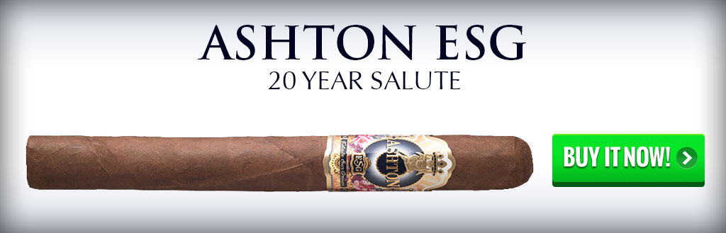 Ashton ESG 20 year salute dominican cigars on sale