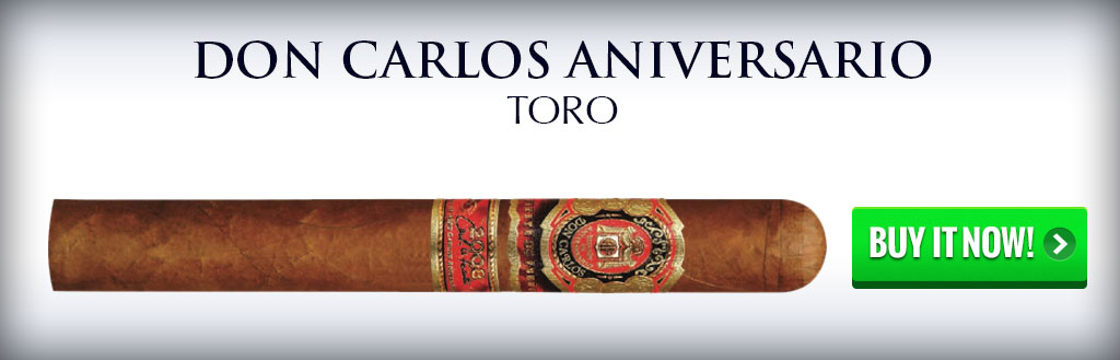 fuente Don Carlos edicion de aniversario dominican cigars on sale