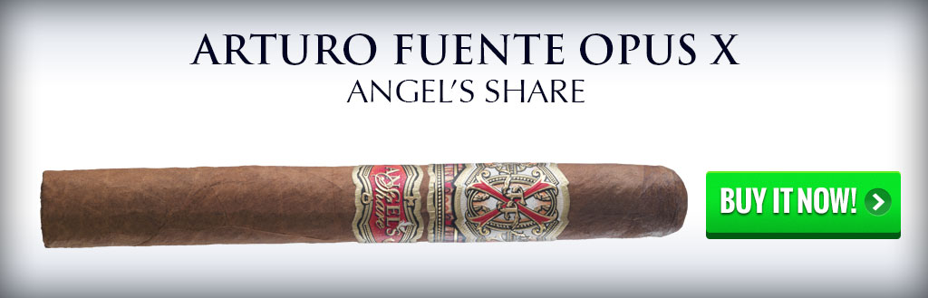 Fuente Fuente Opus X Angel's Share cigars on sale dominican cigars