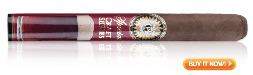 Perdomo Craft Series Amber Sun Grown Churchill cigars on sale