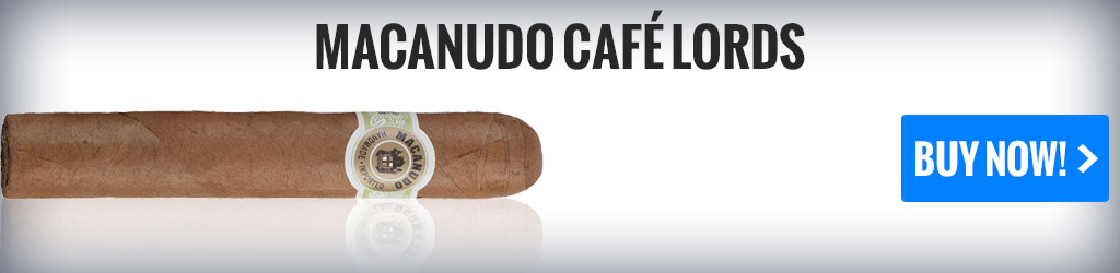 macanudo cafe lords mild cigars on sale