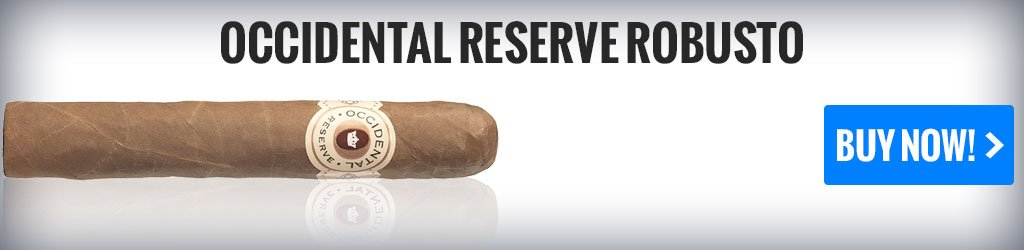 occidental reserve robusto mild cigars on sale