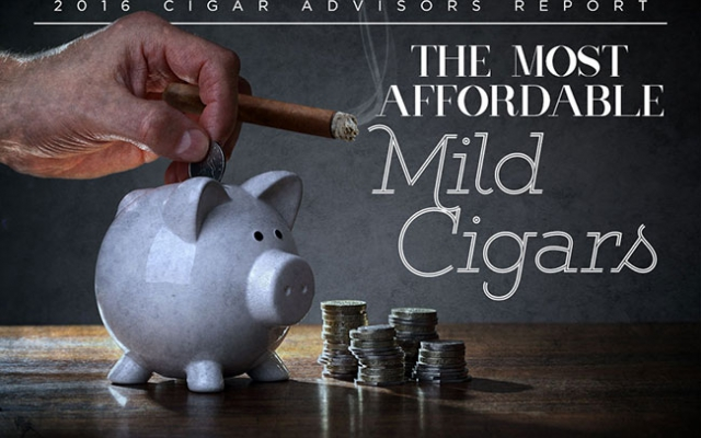 2016 CA Report: Top 10 Most Affordable Mild Cigars