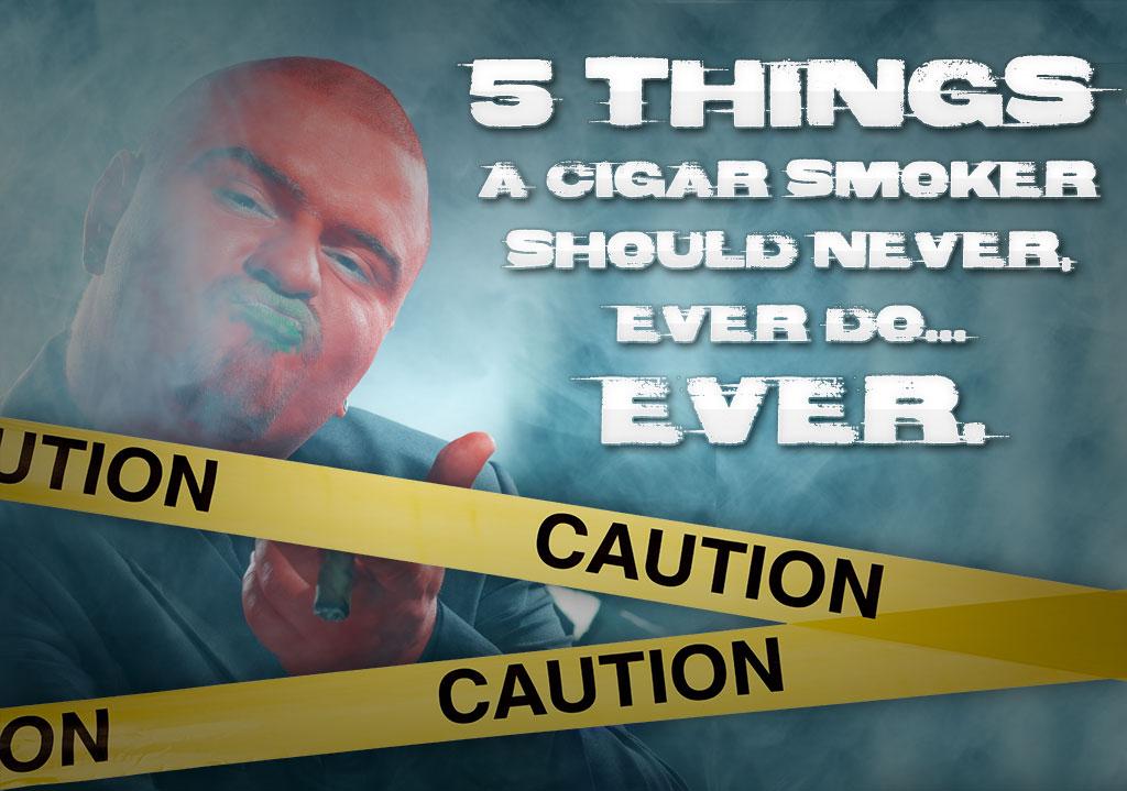 rookie cigar smoker cigar etiquette
