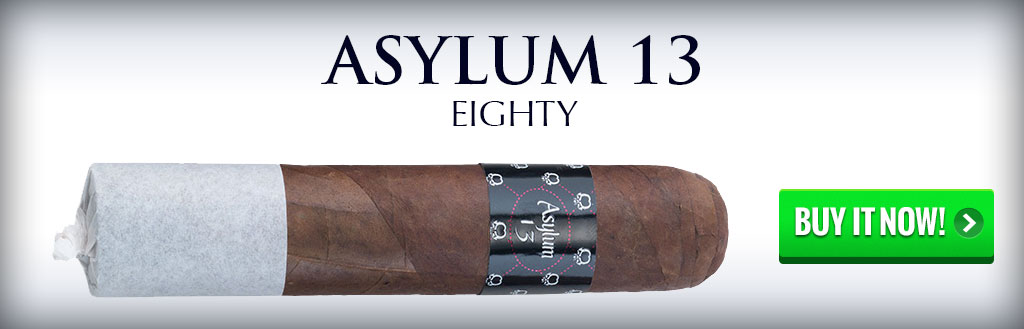 asylum 13 80 cigars on sale